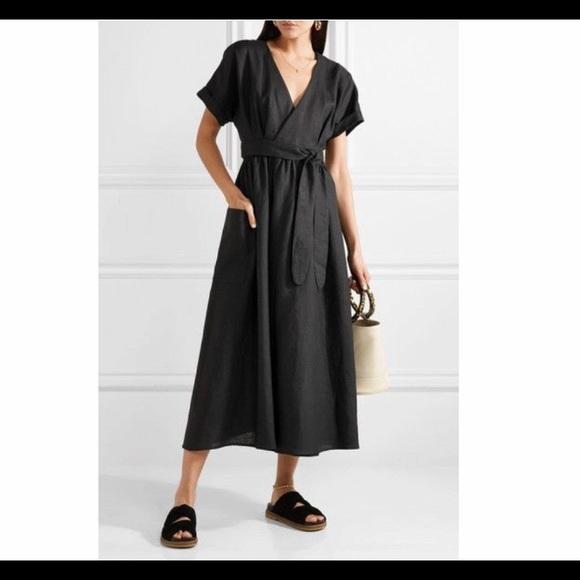 b126ef6b92b7 NWOT Mara Hoffman Hemp Ingrid Midi Dress. M_5cb662c6b3e9177f4fc29aa2